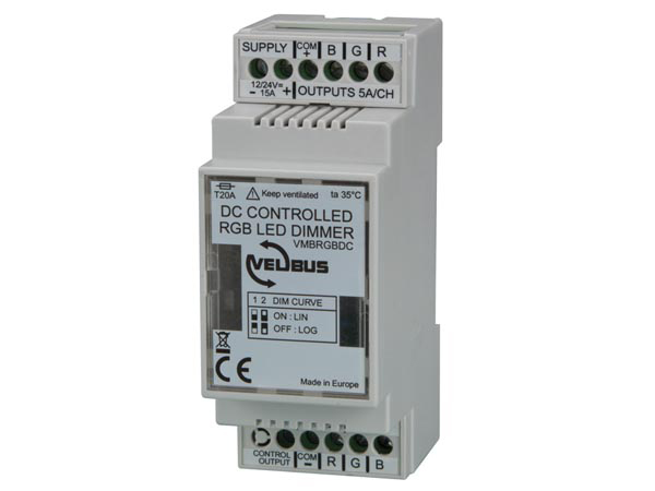 Velbus Products View Vmbrgbdc 0 10 V Controlled