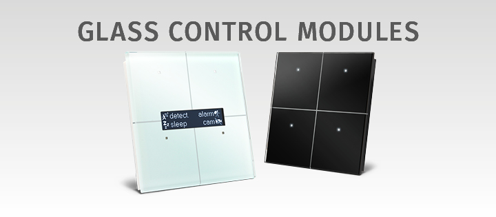 Velbus Glass Touch Panels